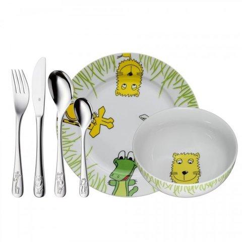 Набор детской посуды (6 предметов / 1 персона) WMF SAFARI 3201002425