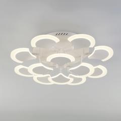 Потолочный светодиодный светильник с пультом управления Eurosvet Geisha 90159/12 белый