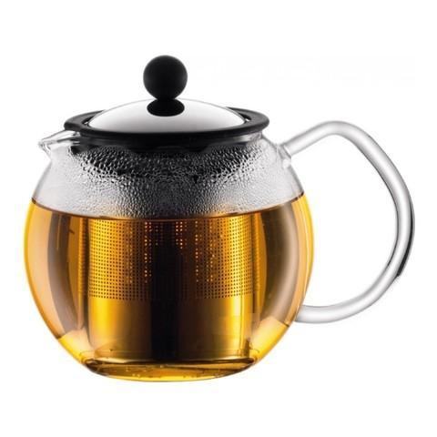 Чайник заварочный с прессом Bodum Assam 0,5 л. хром