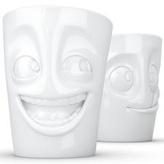 Набор из 2 кружек Tassen Joking & Tasty 350 мл белый T01.29.01