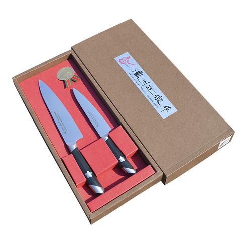 Набор из 2 кухонных ножей SATAKE Sakura HG8083