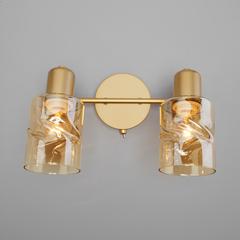 Настенный светильник с выключателем Eurosvet Ansa 20120/2 перламутровое золото