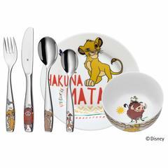 Набор детской посуды (6 предметов / 1 персона) WMF The Lion King 3201005805