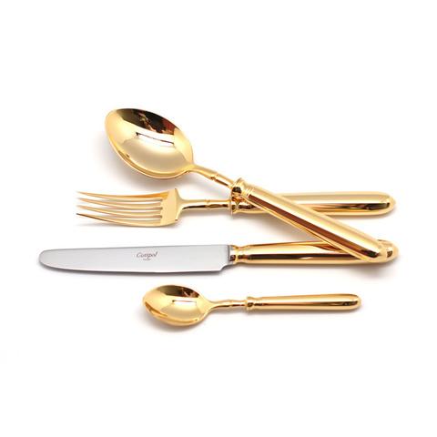 Набор столовых приборов (24 предмета / 6 персон) Cutipol MITHOS GOLD 9151