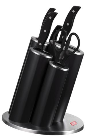 Набор из 4 ножей, ножниц и подставки Wesco 322631-62