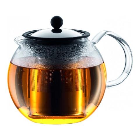 Чайник заварочный с прессом Bodum Assam 1 л. хром