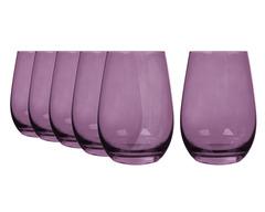 Набор из 6 стаканов 465 мл Stolzle фиолетовый Elements