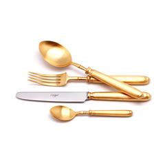 Набор столовых приборов (24 предмета / 6 персон) Cutipol MITHOS GOLD 9152