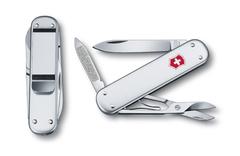 Нож Victorinox Money clip, 74 мм, 5 функций, серебристый 0.6540.16