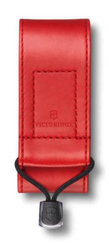 Чехол из искусственной кожи Victorinox, красный, для Swiss Officers Knife 91 и 93 мм толщиной 2-4 ур MV-4.0480.1