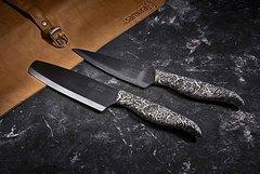 Нож керамический Накири 165мм Samura INCA SIN-0043B/K