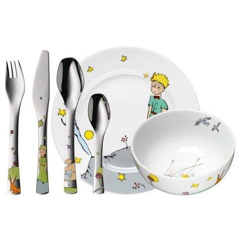 Набор детской посуды (6 предметов / 1 персона) WMF THE LITTLE PRINCE 3201000280