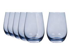 Набор из 6 стаканов 465 мл Stolzle голубой Elements