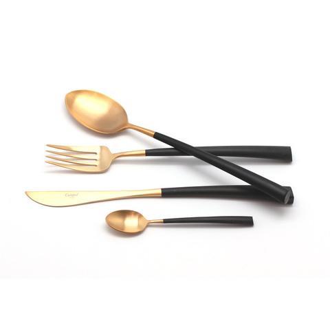 Набор столовых приборов (24 предмета / 6 персон) Cutipol NOOR GOLD 9282