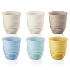 Набор из 6 стаканов Tierra 350 мл разноцветный Guzzini 17950352