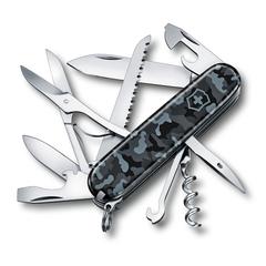 Нож Victorinox Huntsman, 91 мм, 15 функций, морской камуфляж 1.3713.942
