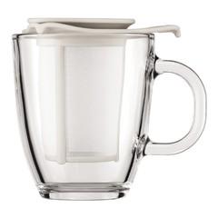 Набор Bodum Yo-Yo белый (кружка 0,35 л., сито-фильтр) K11239-913
