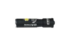 Фонарь светодиодный тактический Armytek Partner C1 Pro v3, 740 лм, теплый свет, 1-CR123A F02802SW