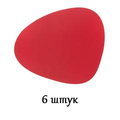 Комплект из 6 подстановочных салфеток 37x44 см LindDNA Bull red 9874