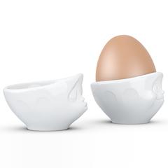 Набор из 2 подставок для яиц Tassen Kissing & Dreamy белый T01.51.01