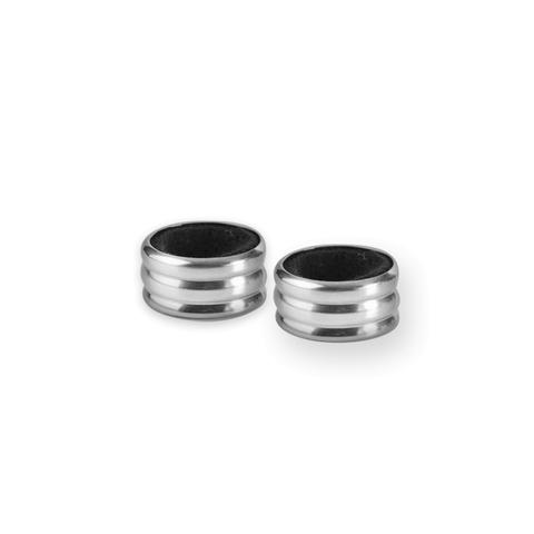 Набор из двух колец-каплеуловителей для вина, диаметр 4 см, IBILI Barware арт. 695031