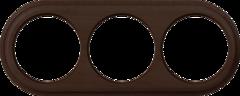 Рамка на 3 поста (венге) WL15-frame-03 Werkel