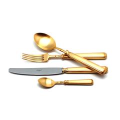 Набор столовых приборов (24 предмета / 6 персон) Cutipol PICCADILLY GOLD 9142