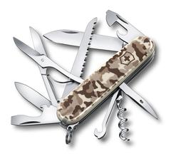Нож Victorinox Huntsman, 91 мм, 15 функций, бежевый камуфляжный 1.3713.941