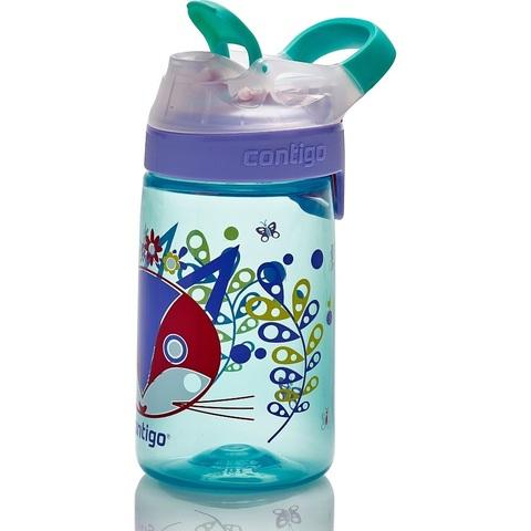 Детская бутылочка Contigo Gizmo Sip (0.42 литра), голубая