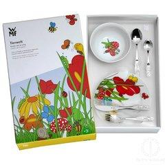 Набор детской посуды (6 предметов / 1 персона) WMF TIERWELT 3201002499