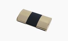Маникюрный набор Yes, 5 предметов, цвет золотистый/черный, металлический футляр 9319GAR
