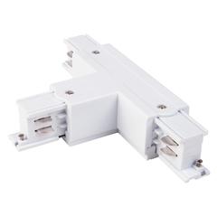 Коннектор Т-образный для трехфазного шинопровода левый белый TRC-1-3-TL-WH Elektrostandard