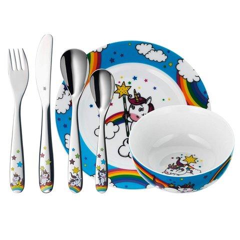 Набор детской посуды (6 предметов / 1 персона) WMF UNICORN 3201005807*
