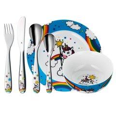 Набор детской посуды (6 предметов / 1 персона) WMF UNICORN 3201005807