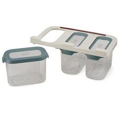 Набор из 3 подвесных контейнеров для хранения CupboardStore 1,3 л темный опал Joseph Joseph 81112
