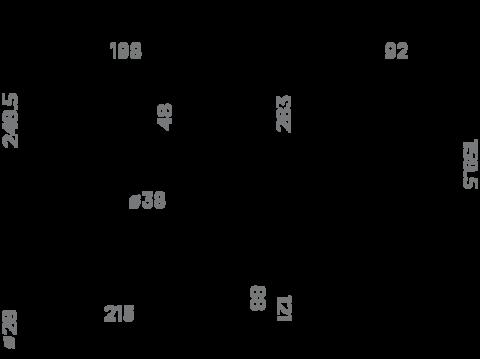 Смеситель для кухни OMOIKIRI Tanigawa-S (4994120)