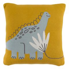 Подушка декоративная Динозавр Toto из коллекции Tiny world 35х35 см Tkano TK20-KIDS-CU0006