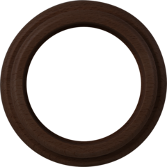 Рамка на 1 пост (венге) WL15-frame-01 Werkel