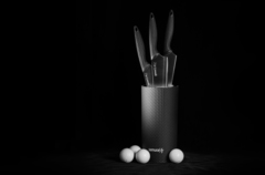 Набор из 3 кухонных ножей Samura Golf SG-04/Y