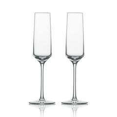 Набор фужеров для шампанского, объем 209 мл, 2 шт, Zwiesel Glas Pure арт. 122316