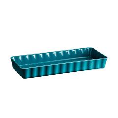 Форма для пирога прямоугольная 36,5х15х5см Emile Henry (цвет: лазурь) 606034
