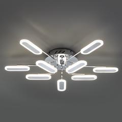 Потолочный светодиодный светильник Eurosvet Osaka 90148/10 хром