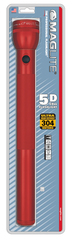 Фонарь MAGLITE, 5D, красный, 43,4 см, в блистере S5D036E