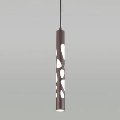 Подвесной светодиодный светильник DLR037 12W 4200K кофейный Elektrostandard