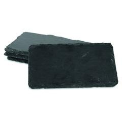 Набор досок сервировочных для сыра Boska 16x10см, (чёрный), 4шт. BSK359003