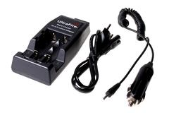 Зарядное устройство 2 канальное ЗУ 18650 Li-Ion* A00401