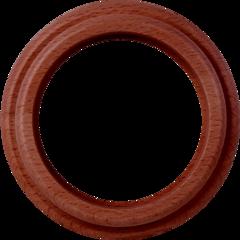 Рамка на 1 пост (итальянский орех) WL15-frame-01 Werkel