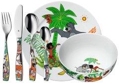 Набор детской посуды (6 предметов / 1 персона) WMF Jungle 3201000262