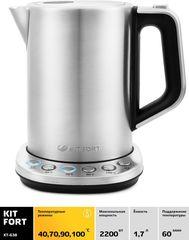 Чайник 1,5л Kitfort КТ-638