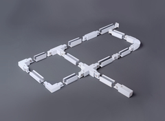 Коннектор Т-образный для трехфазного шинопровода правый белый TRC-1-3-TR-WH Elektrostandard